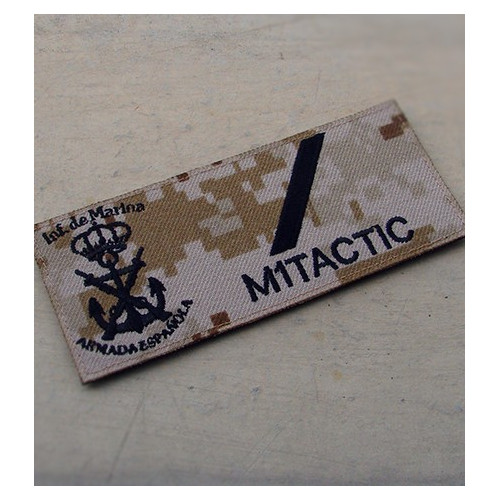 Spanish Navy Marines Military Patch (Desert Digital)
