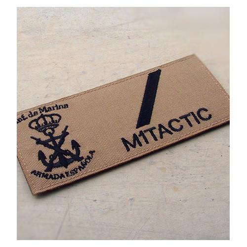 Galleta militar bordada de Infantería de Marina (Árida / TAN)