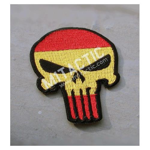 Parche / Emblema Punisher (bandera de España)