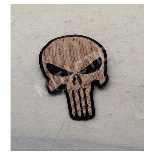 Parche / Emblema de Punisher de alta calidad (Árido/TAN)