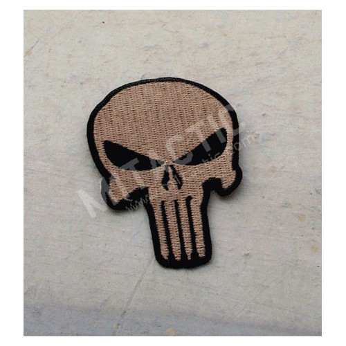 Punisher Patch (TAN)