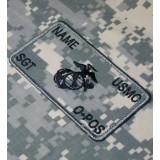 Personnalisés ACU Marines Combat Id plaquées