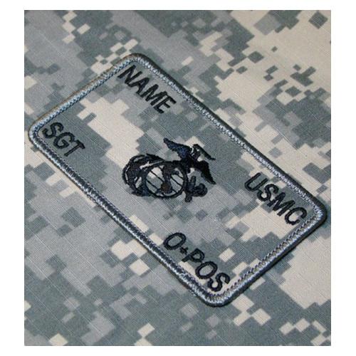 Parche de combate identificativo personalizado de los Marines en ACU