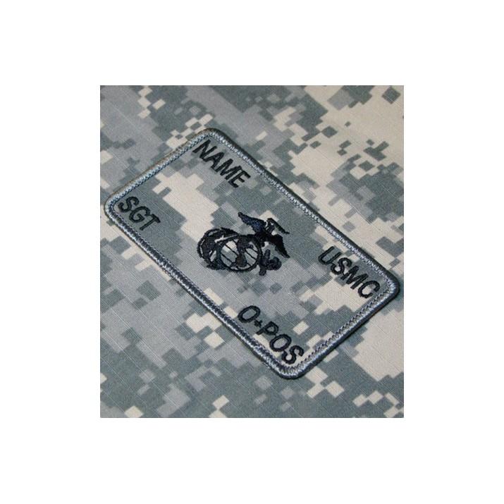 Galleta Parche de combate identificativo personalizado de los Marines en ACU