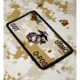 Parche de combate identificativo personalizado de los Marines en Desert Marpat