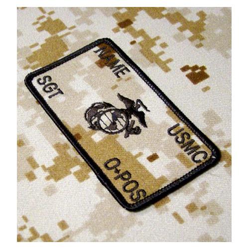 Personnalisés desert marpat Marines Combat Id plaquées