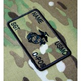 Custom Multicam USMC Combat Id patch