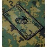 Personnalisés marpat Marines Combat Id plaquées
