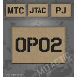 Personnalisée identifiant d'opérateur / callsign de Patch aride/tan