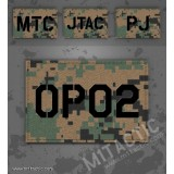 Custom Marpat Call Sign Id patch