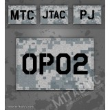 Custom ACU Call Sign Id patch