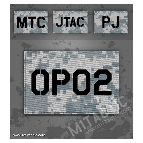 Personnalisée identifiant d'opérateur / callsign de Patch ACU