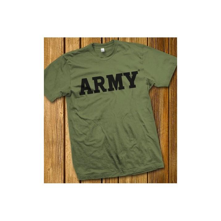 ARMÉE bloc vert T-shirt