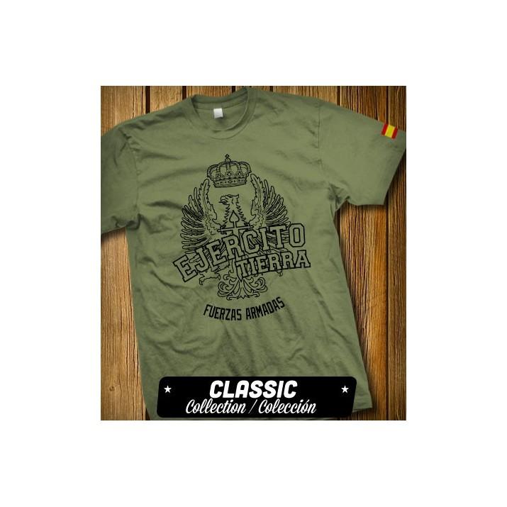 T-shirt vert armée espagnole