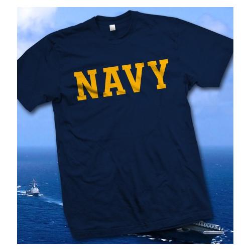Camiseta azul U.S. Navy - Armada de los Estados Unidos