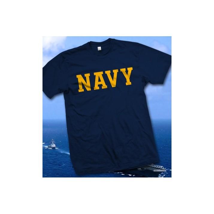 États-Unis Marine - T-shirt bleu marine des Etats-Unis