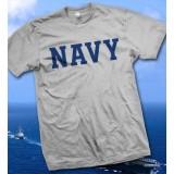 États-Unis Marine - T-shirt gris marine des Etats-Unis