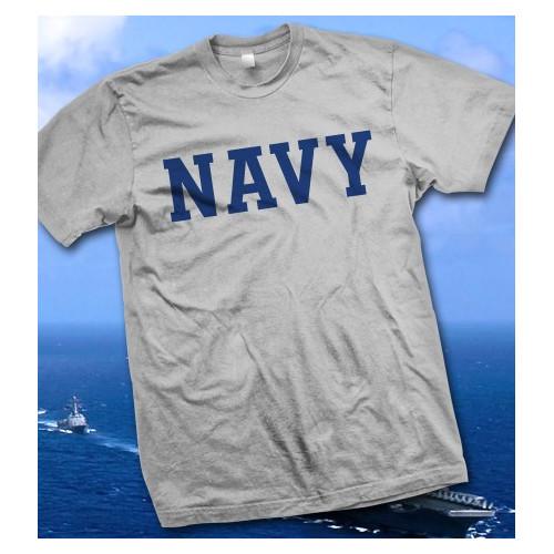 Camiseta gris U.S. Navy - Armada de los Estados Unidos