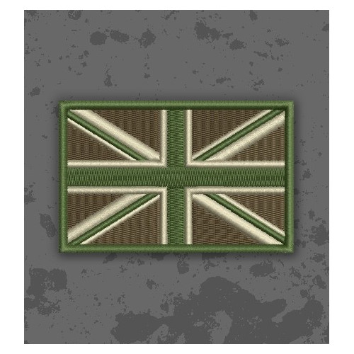 Bandera Union Jack Multicam/Subdued