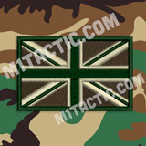 Bandera Union Jack Forest/Woodland
