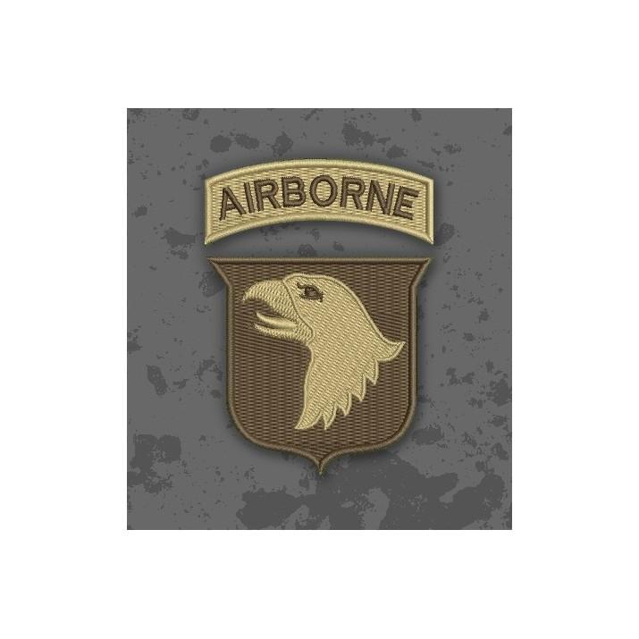 Parche 101 Airborne Árido/TAN