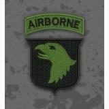 Parche 101 Airborne Olive Drab