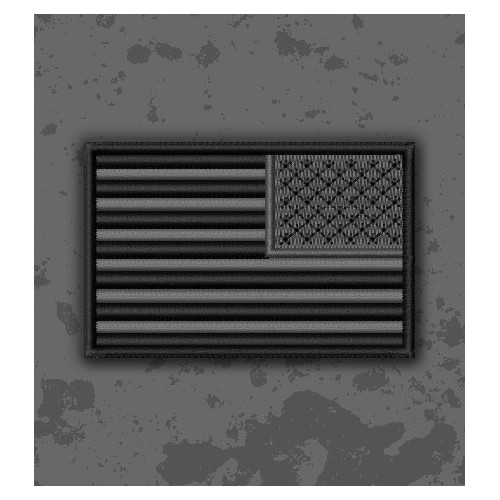 Bandera USA SWAT/CQB Invertida