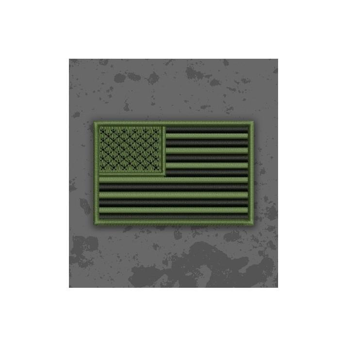 Bandera USA Olive Drab