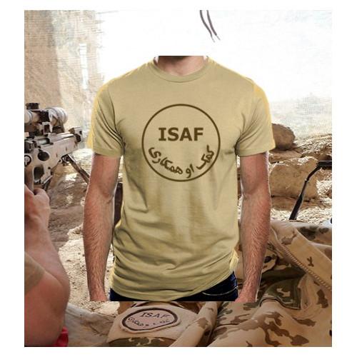 Camiseta Isaf TAN/Árida