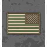 Bandera USA Multicam/Subdued Inverted