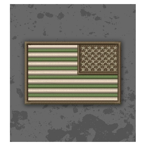 Bandera USA Multicam/Subdued Invertida