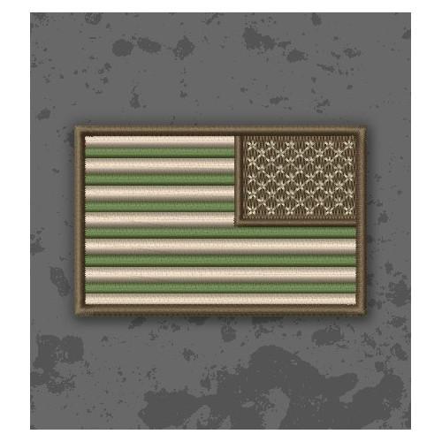 Bandera USA Multicam/Subdued Inverted