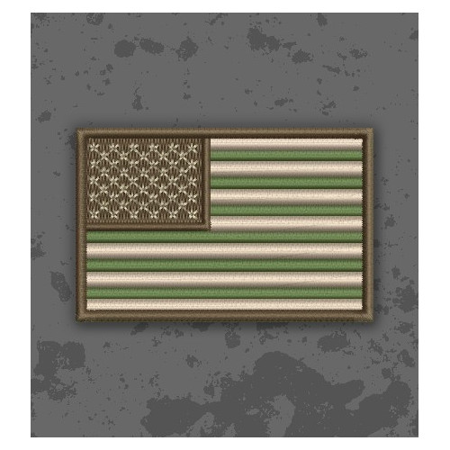 Bandera USA Multicam/Subdued