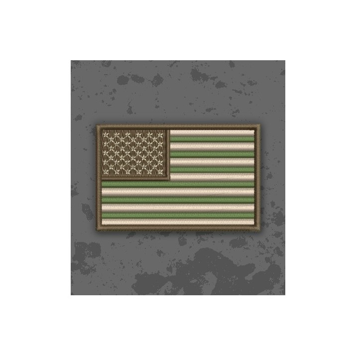 Bandera USA Multicam/Subdued