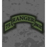 Parche 75th Ranger Regiment (Airborne) Olive Drab