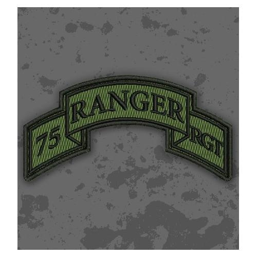 Parche 75th Ranger Regiment (Airborne) Olive Drab