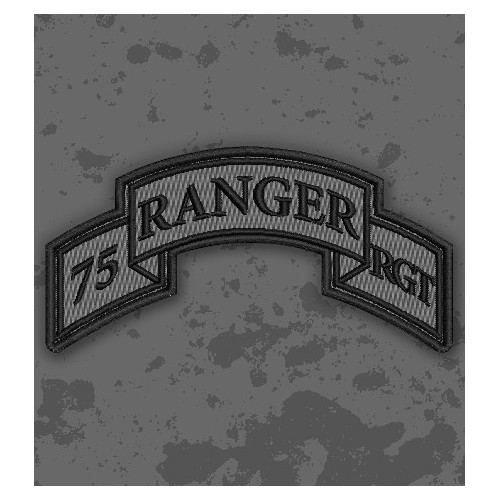 Parche 75th Ranger Regiment (Airborne) ACU