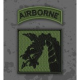 Parche 18th Airborne Corps Olive Drab