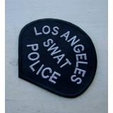 Parche Los Ángeles SWAT Police Negro-Gris