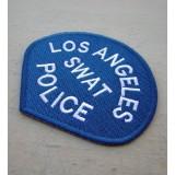 Parche Los Ángeles SWAT Police Azul-Blanco