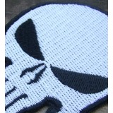 Parche / Emblema Punisher (Blanco)