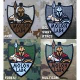 Ecusson brodé Molon Labe - Spartans à divers camouflages