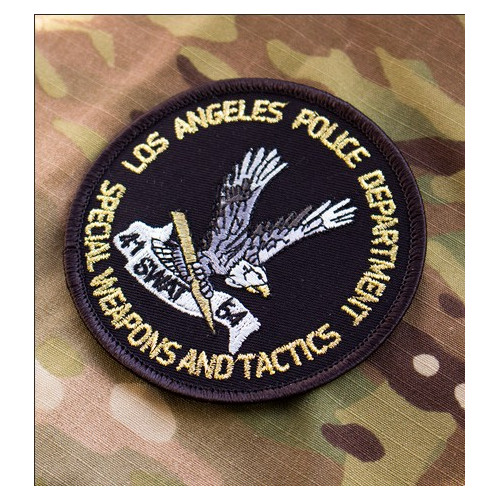 SWAT 54 - Los Angeles Police Department Embroidered Patch
