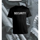 Camisetas Security Negra