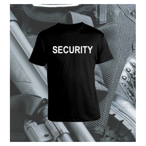 Camiseta Security Negra