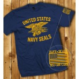 Camiseta U.S. Navy SEALs Navy