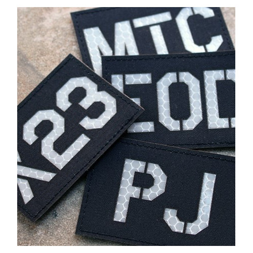 Custom Call Sign Id patch (Reflective)