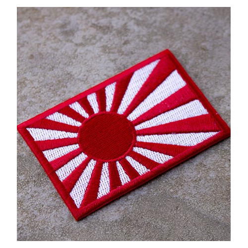 Patch / Drapeau brodé de hausse drapeau du soleil
