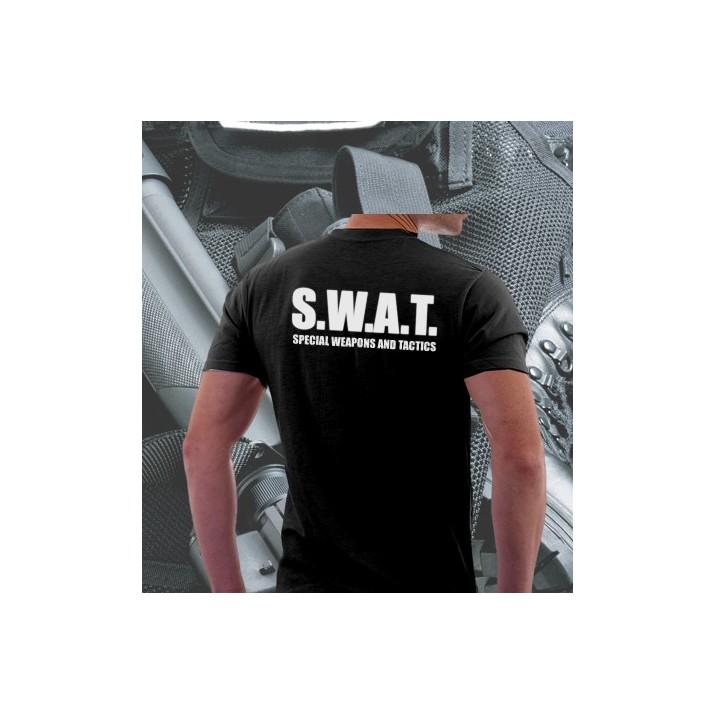 Camisetas SWAT Negra