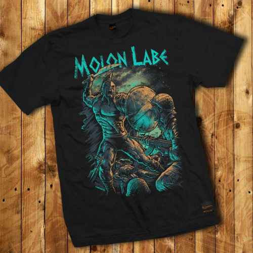 Molon Labe Spartan Warrior - Men T-shirt